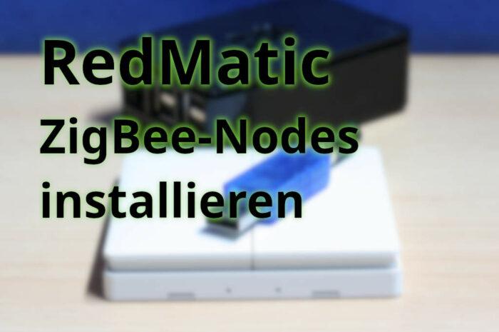 RedMatic: Zigbee-Paket installieren